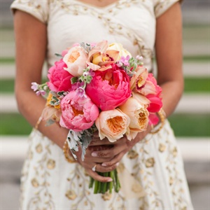 Coral Peonies as featured on the Knot