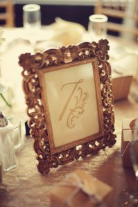 Gold Frame by Shabby Me Chic on Etsy