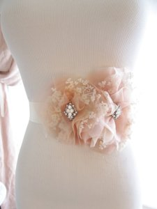 Pretty sash by Abigail Grace Bridal on Etsy