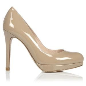 Sledge Patent Leather Heel